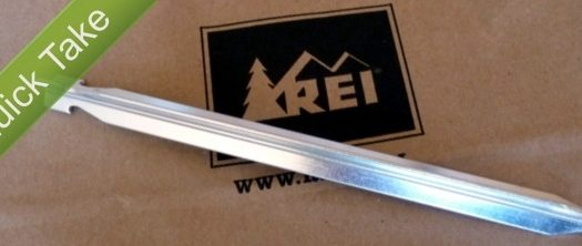 REI Tent Stake Feature Image
